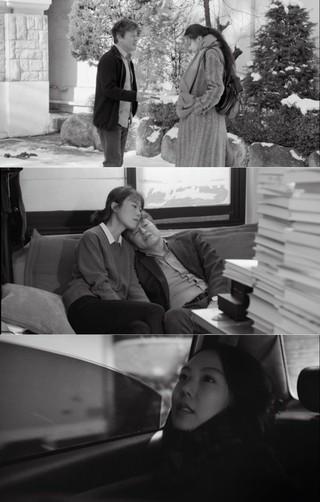 """""""不倫説""""キム・ミニ - ホン・サンス監督の映画「その後」、韓国で22日に封切り。懇談会など公式の場は「無」の予定。 (1枚)"""