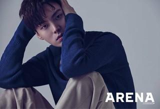 俳優アン・ジェヒョン、画報公開。雑誌ARENA HOMME+。