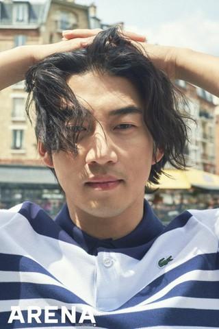 俳優ユン・ゲサン、画報公開。ファッション誌ARENA。パリでのひととき。