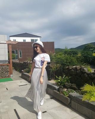 女優ソ・ジヘ、SNS更新。済州でヒーリング。
