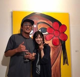 女優コ・アラ、SNS更新。画家としても活躍する同じ事務所の先輩俳優ハ・ジョンウと。