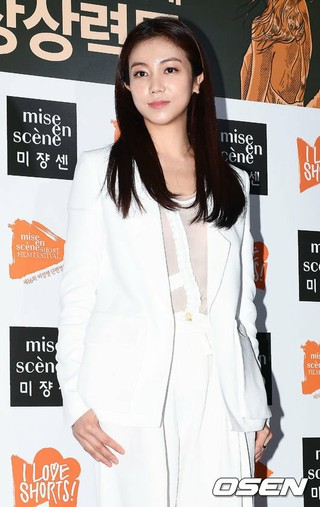 女優キム・オクビン、第16回ミジャンセン短編映画祭開幕式に出席。