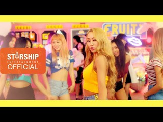 【動画】【公式STA】[MV] 효린(HYOLYN) X 키썸(KISUM) - FRUITY(PROD.Groovyroom)