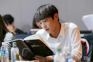 イ・ジュンギ ムン・チェウォン、韓国版「クリミナル・マインド」台本読み現場。