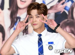 SF9 ロウン、、KBS 2TV 新ドラマ「学校2017」制作発表会に出席。 (3枚)
