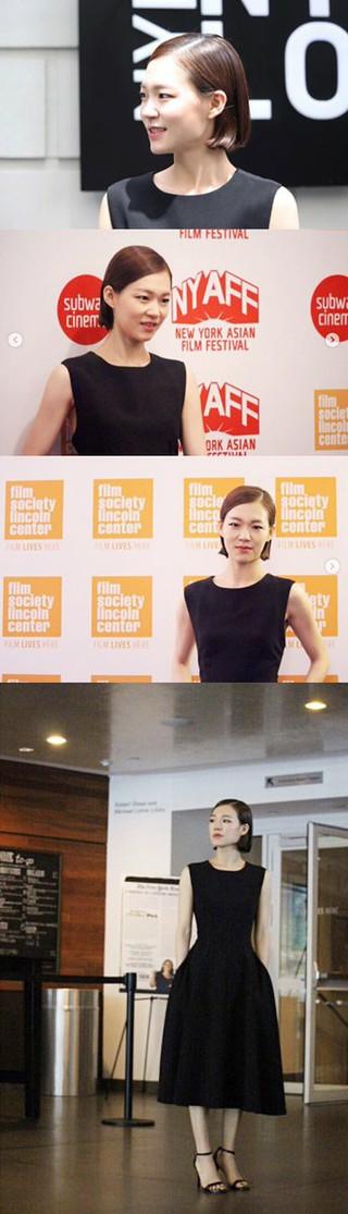 女優ハン・イェリ、画報公開。第16回ニューヨークアジア映画祭での姿。