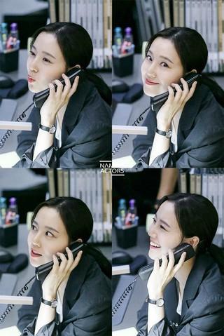 女優ムン・チェウォン、韓国版「クリミナル・マインド」撮影ビハインドカット公開。所属事務所ナムアクターズの公式SNSより。