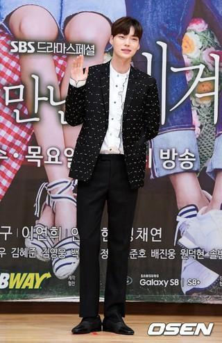 俳優アン・ジェヒョン、SBSドラマ「また会った世界」制作発表会に出席。