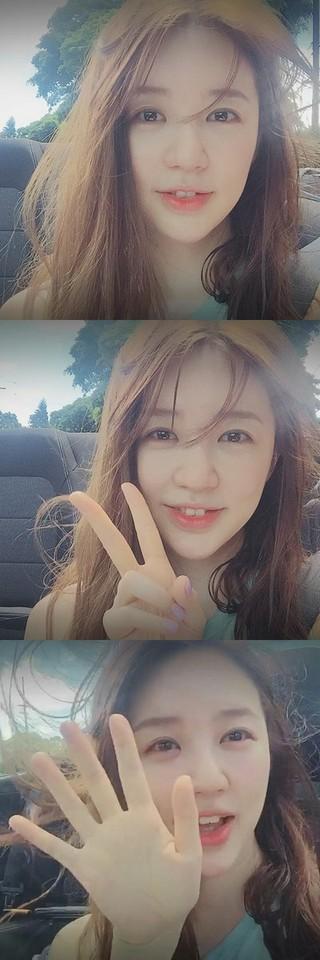女優ユン・ウネ、SNS更新。風に当たりながらセルカ!