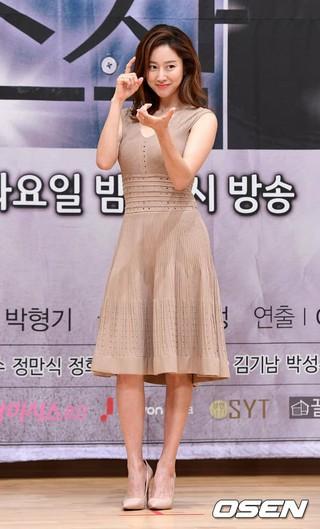 チョン・ヘビン、SBS新ドラマ「操作」の制作発表会に出席。