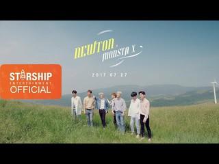 【動画】【公式STA】[Teaser] MONSTA X - NEWTON