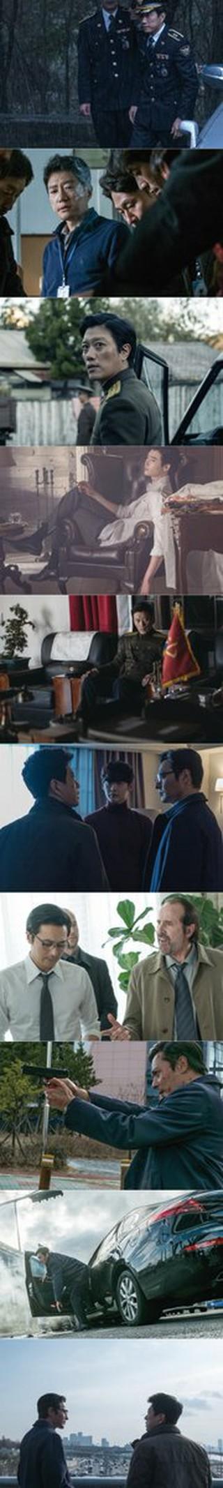 チャン・ドンゴン、キム・ミョンミン、パク・ヒスンら出演の映画「V.I.P」がスチル公開。