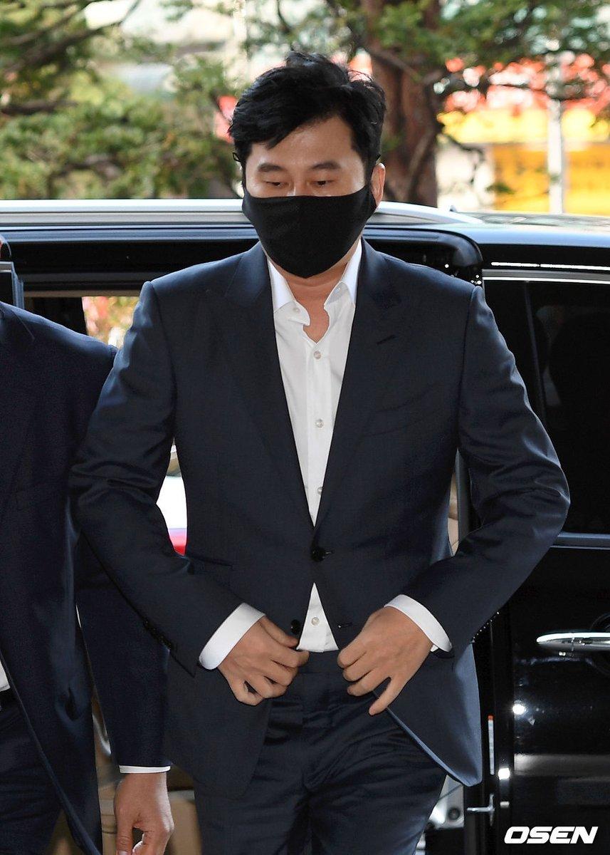 ヤン・ヒョンソク YG元代表、遠征賭博容疑の宣告公判に出廷。27日午前、ソウル西部地方裁判所。。 | 韓流速報
