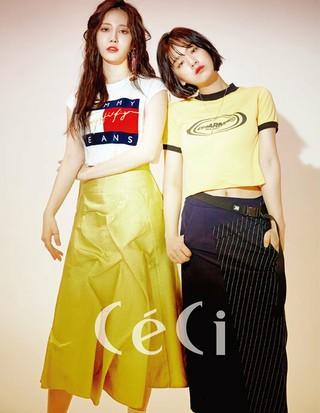Girl's Day ユラ、俳優イ・ジュヨン、アン・ウヨン、画報公開。雑誌CeCi。