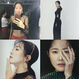 女優オム・ジウォン、画報公開。反転の魅力Bカット。