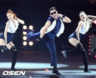歌手PSY、「PSY ビショビショショー SUMMER SWAG」開催中。@ソウル・蚕室総合運動場内補助競技場。