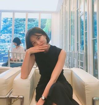 女優パク・スジン、近況を公開。2015年7月、「ヨン様」俳優ペ・ヨンジュンと結婚、2016年10月出産。