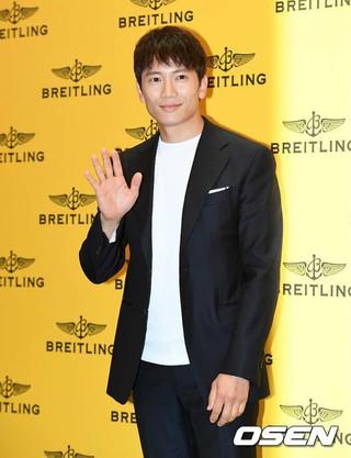 俳優チソン、「BREITLING」2017新製品ローンチに出席。