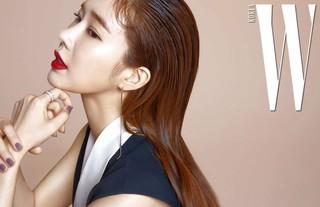 女優ユ・インナ、画報公開。雑誌「W KOREA」。