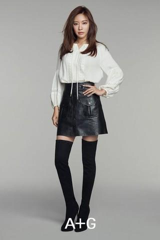 女優キム・アジュン、画報公開。ファッションブランド「A+G」。