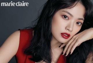 女優チョン・ウヒ、画報公開。雑誌「marie claire」。