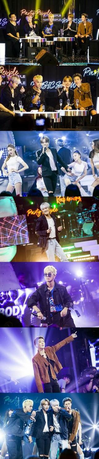 WINNER、SBS「Party People」で「LOVE ME LOVE ME」のオリジナルダンスを初公開!
