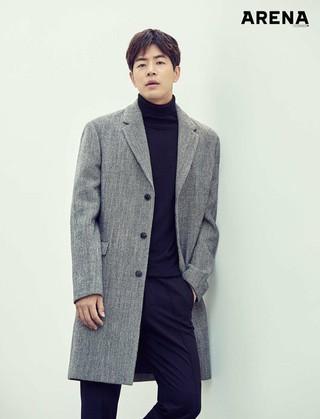俳優イ・サンユン、画報公開。「ARENA」より。