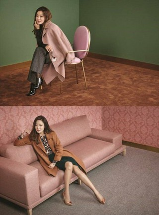 女優キム・ヒソン、画報公開。ファッションブランド「JOINUS」。