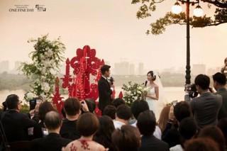 俳優ソン・ジェヒ - チ・ソヨン、挙式写真を公開。