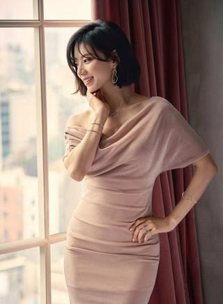 第2子妊娠中の女優パク・スジン、画報公開。100点満点の美貌。