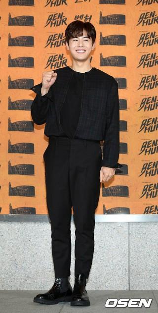 ZE:A 出身キム・ドンジュン、ミュージカル「BEN-HUR」VIPフォトコールイベントに出席。@ソウル・忠武アートセンター大劇場。