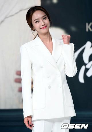 JEWELRY 出身パク・チョンア、KBS2TV新連続ドラマ「私の男の秘密」の制作発表会に出席。