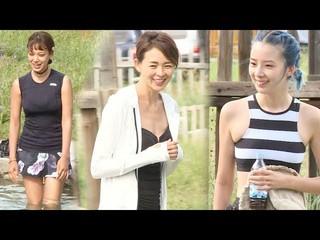 【動画】「サランちゃん」チュ・サラン、モンゴルでの温泉タイム。