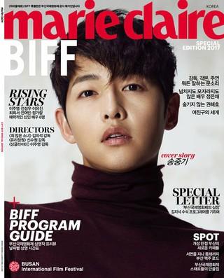俳優ソン・ジュンギ、画報公開。雑誌「marie claire」BIFFspecial。
