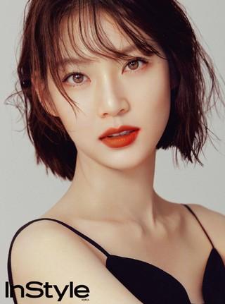 女優コン・スンヨン、画報公開。「In Style」より。