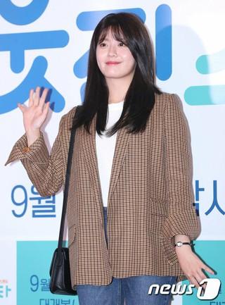 女優ナム・ジヒョン、映画「隣のスター」のVIP試写会に出席。@ソウル・ロッテシネマ建大入口。