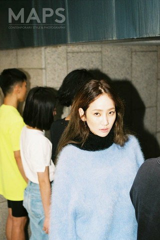 Wonder Girls 出身イェウン、画報公開。ファッション誌「MAPS」10月号。