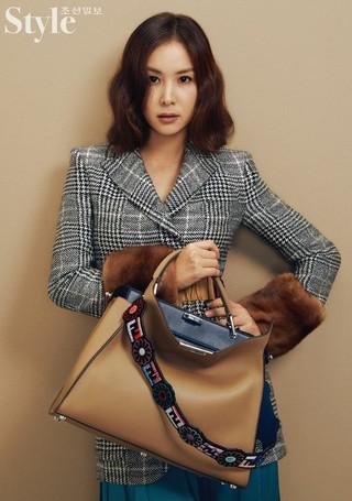 女優コ・ソヨン、画報公開。雑誌「Style朝鮮」10月号。