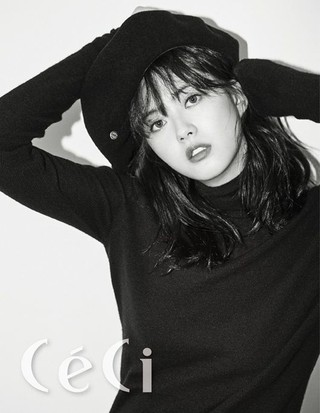 女優コ・アラ、画報公開。「CeCi」より。