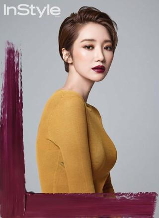 女優コ・ジュンヒ、画報公開。「In Style」より。