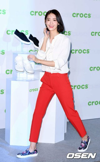 少女時代 ユナ、「crocs」の2017年秋冬コレクション発売イベントに出席~その2。