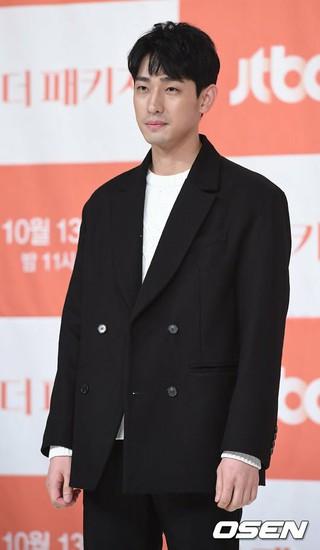 俳優ユン・パク、JTBCドラマ「恋するパッケージツアー~パリから始まる最高の恋~(原題:ザ・パッケージ)」の制作発表会に出席。