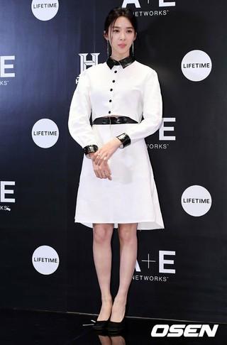 女優イ・チョンア、A+E NETWORKSの韓国ローンチイベント登場。12日午後、ソウル・フォーシーズンズホテル。