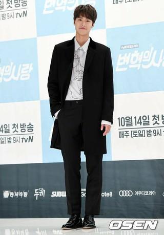 俳優コンミョン、tvN新土日ドラマ「ピョン・ヒョクの愛」の制作発表会に出席。