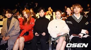 カン・ギュンサン、イ・チェヨン、ユン・チャンヨン、イ・ヨルム、K.Will、UL:KINファッションショーに出席。17日午前、東大門DDP「2018 S/S Seoul Fashi