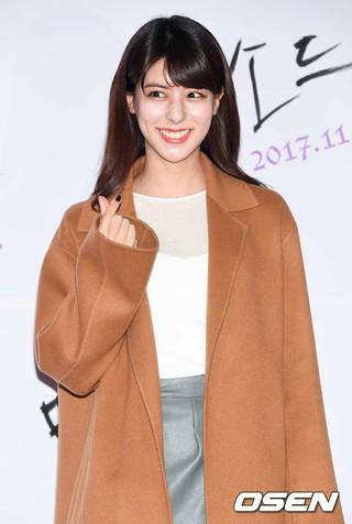 フジイ・ミナ(藤井美菜)、映画「メソッド」VIP試写会に出席。23日午後、ソウル・COEXメガボックス。