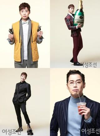 俳優キム・ジェウォン、画報公開。雑誌「女性朝鮮」。