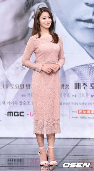 女優パク・セヨン、MBC「お金の花」制作発表会に出席。