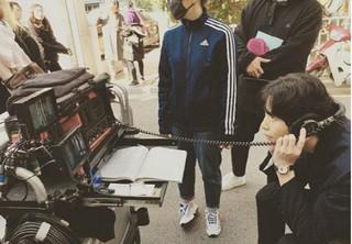 俳優イ・ミンギ、tvN「この人生は初めなので」の撮影現場公開。
