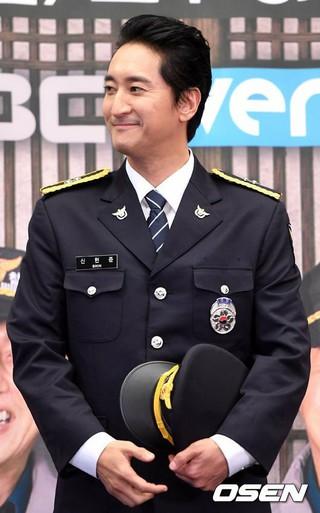 俳優シン・ヒョンジュン、MBC every1バラエティ「田舎の警察2」の制作発表会に出席。